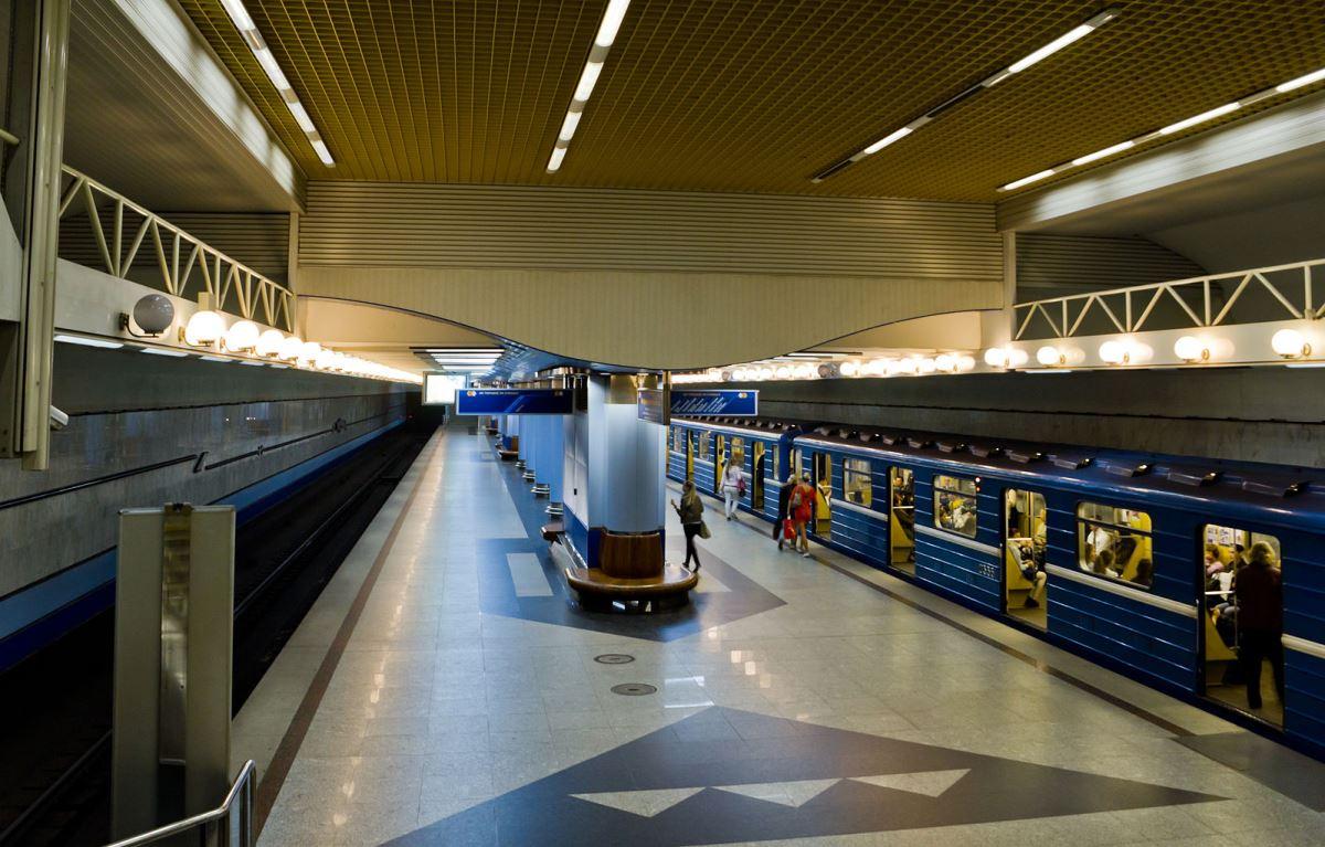 картинки линии метро в минске