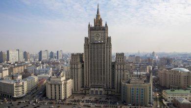 здание Министерства иностранных дел России в Москве