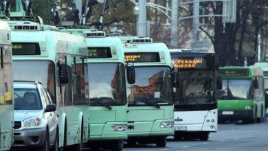 общественный транспорт в Минске