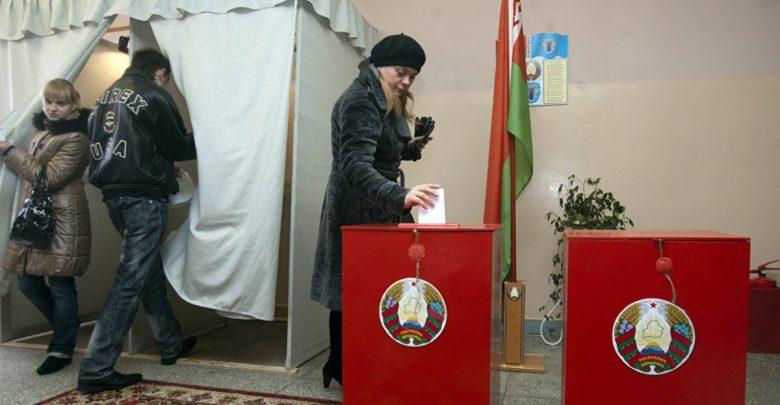 выборы в Беларуси, голосование