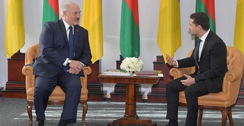 Зеленский и Лукашенко