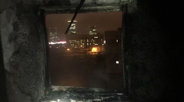 150 человек были эвакуированы ночью из общежития