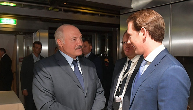 Лукашенко и Курц