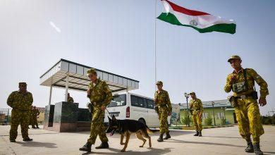 Пограничники Таджикистана
