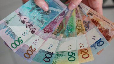 Белорусские рубли в купюрах на руках