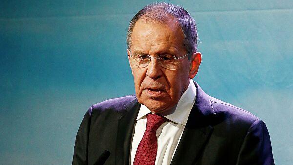 Глава МИД России на конференции
