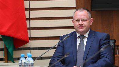 Максим Ермолович занимающий должность министра финансов Беларуси