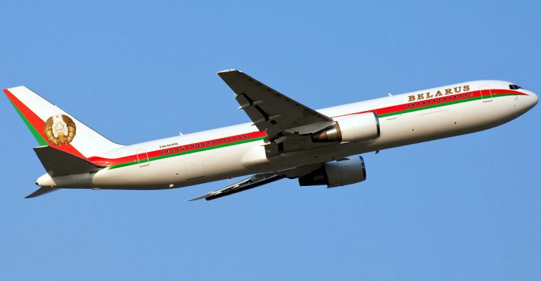 самолёт Лукашенко