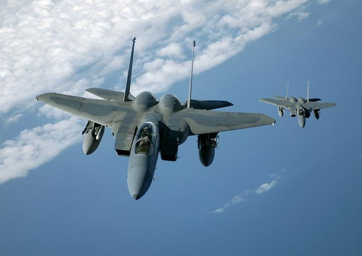 Истребитель F-15
