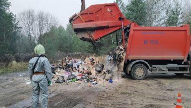Радиоактивный йод нашли в мусоровозе на полигоне «Тростенецкий»