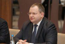 Министр Финансов Беларуси Максим ермолович на совещании