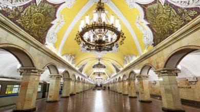 Станция московского метро опустела