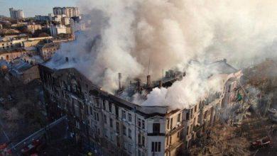 Пожар в историческом здании унёс 10 жизней