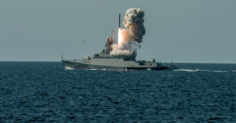 Запуск «Калибров» с корабля