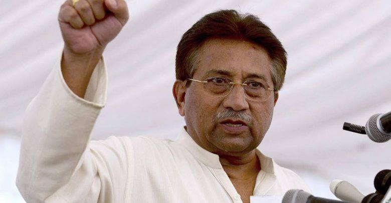 бывший президент Пакистана Первез Мушаррафа
