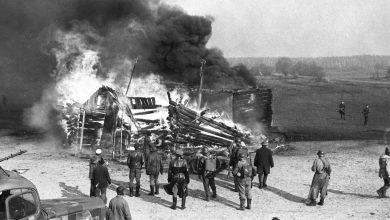 Карательные отряды прибалтов во время ВОВ