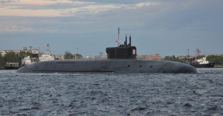 """подводный ракетоносец """"Князь Владимир"""""""
