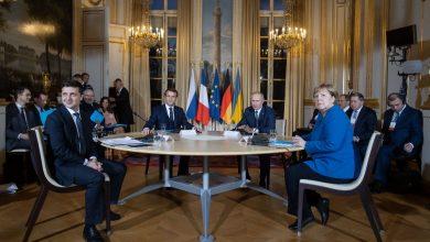 """встреча лидеров """"нормандской четвёрки"""" в Париже"""