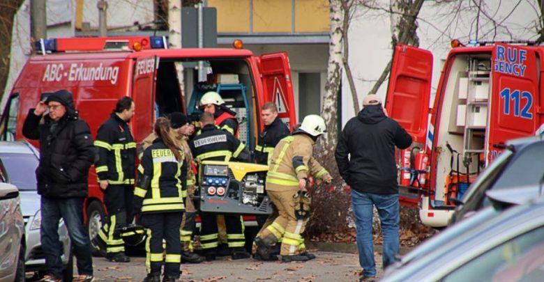 в жилом доме в Германии прогремел взрыв