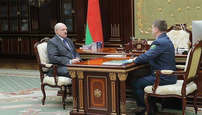 Лукашенко и Сенько