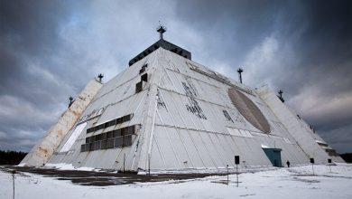 Здание локатора системы ПРО Москвы