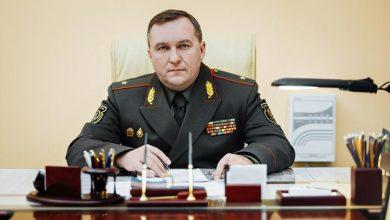 Новый министр обороны Беларуси Виктор Хренин