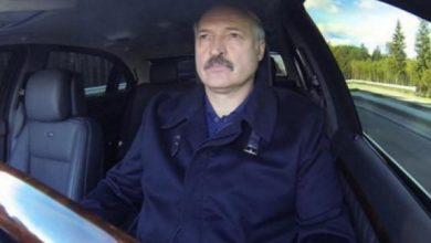 Лукашенко за рулём собственного автомобиля