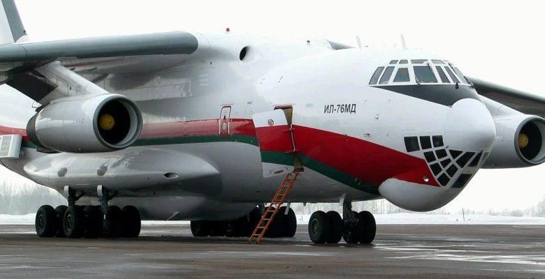 Самолёт с гуманитарной помощью из Беларуси в Китай