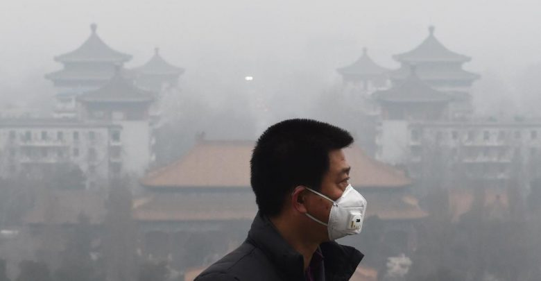 китай, грязный воздух