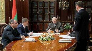 Президент беларуси на совещании с представителями министерств