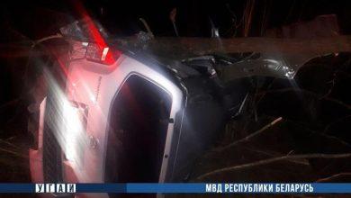 Photo of Под Минскм водитель погиб, убегая от милиции