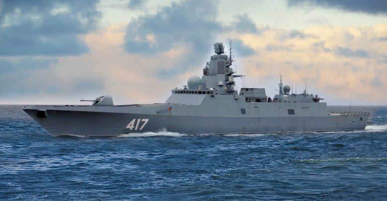 Адмирал Катасонов фрегат в море