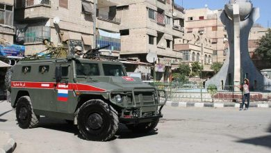 Photo of Видеофакт: инцидент с броневиками США и России в Сирии