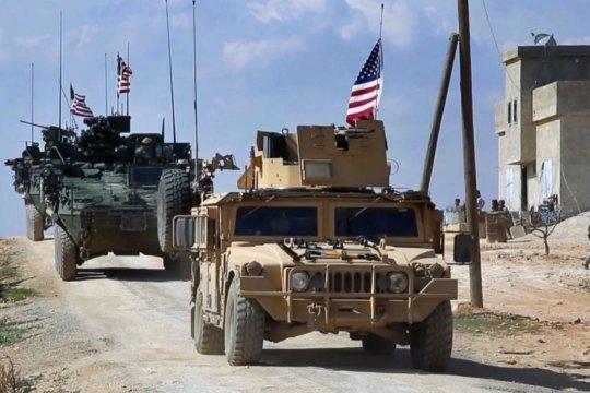 Американская военная колонна