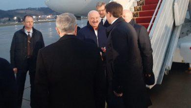 Photo of Лукашенко прибыл в Сочи для переговоров с Путиным
