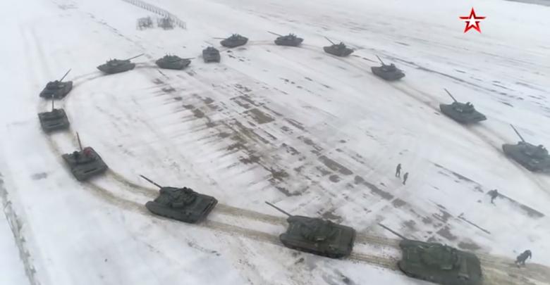 Сердечко из танков