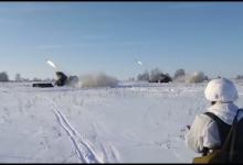 Стрельба из Градов кадр из видео