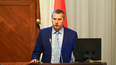 первый вице-премьер Беларуси Дмитрий Крутой