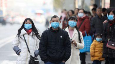 Китай, китайцы в масках