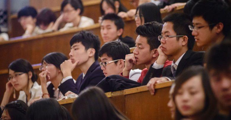 студенты, китайцы