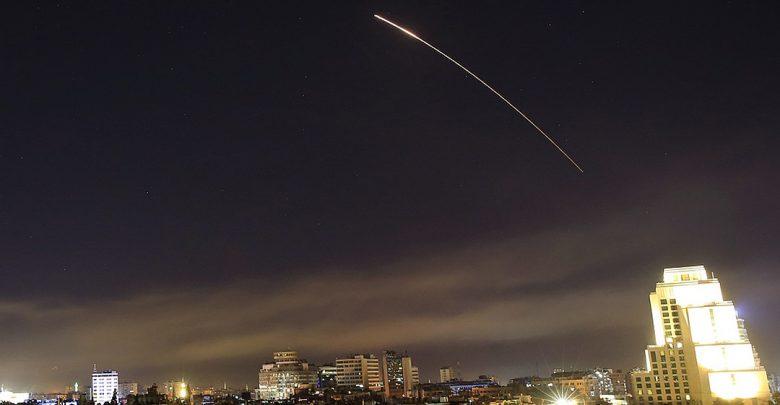 Ракетная атака по Сирии