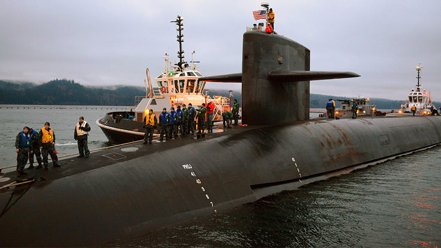 "Подводная лодка с баллистическими ракетами класса ""Колумбия"""