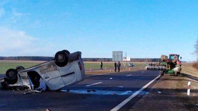 Photo of ДТП под Щучином: в результате столкновения Peugeot и трактора погиб человек