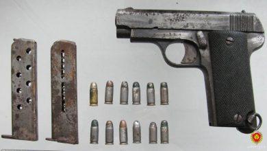 Photo of В Сморгони нашли испанский пистолет времён Первой мировой войны
