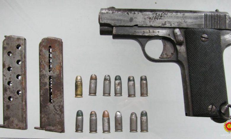 житель Сморгони нашёл уникальный испанский пистолет