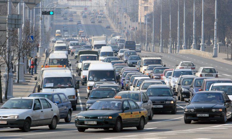 машины на дорогах Беларуси