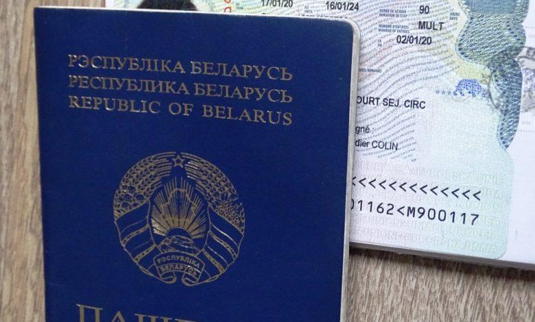 белорусский паспорт и шенген
