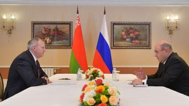 Photo of Румас и Мишустин в Москве обсуждают интеграцию Беларуси и России