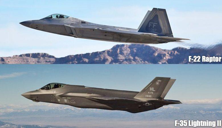 Самолёты пятого поколения ВВС США