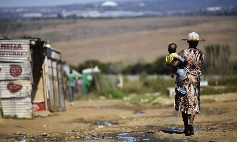 бедность, нищета, Африка